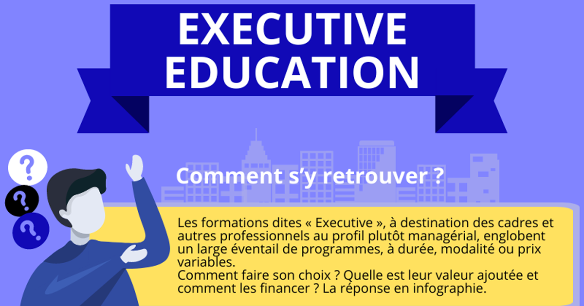 Une de l'article Executive Education