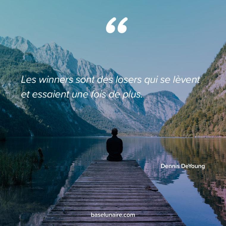 «Les winners sont des losers qui se lèvent et essaient une fois de plus» – Dennis DeYoung