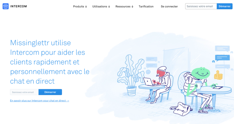 Home du site intercom