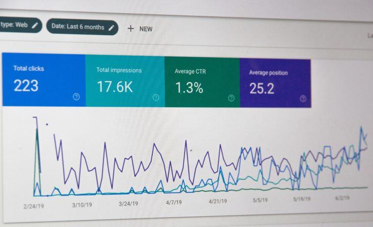 Des données Google Analytics