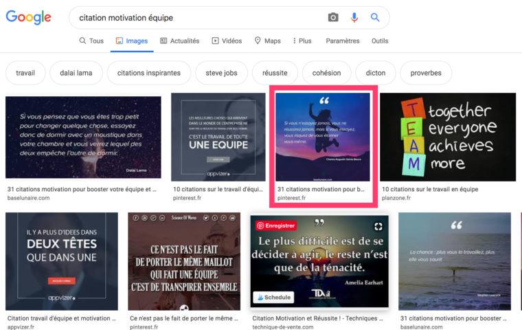 """Résultats de recherche Images Google pour la requête """"citation motivation équipe"""""""